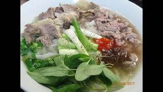 Phở Bò - Cách nấu Phở Bò - Bí quyết nấu Phở Bò ngon đúng vị by Vanh Khuyen