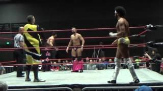The Cunninghams vs The Bollywood Boys ~ WrestleSport 4/23/16