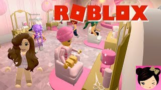 Roblox Beauty Hair Salon Roleplay - Salon & Spa Game - Free Makeover Online Game