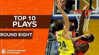 Top 10 Plays  - Turkish Airlines EuroLeague Regular Season Round 8