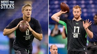 Who's the Top QB in the 2016 NFL Draft? | Move the Sticks | NFL