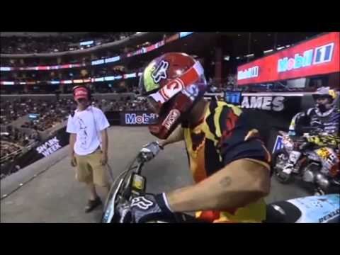 Acidentes Incriveis de Motocross Freestyle