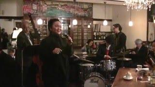 Maria Lourdes w/ Ohara Eiichi Jazz Trio performed at LA MAREA