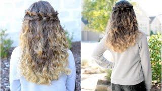 Puffed Loop Braid | Cute Girls Hairstyles