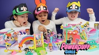Powerpuff Girls Toy Challenge! Story Maker System Superheroes Blossom,Buttercup,Bubbles | Ad Feature