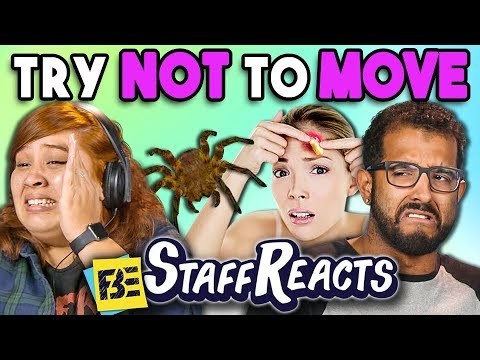 TRY NOT TO MOVE CHALLENGE 3 ft. FBE Staff