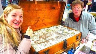 WE GAVE AWAY ALL OUR TREASURE HUNT CHEST MONEY!