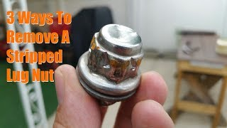 3 Ways to Remove a Stripped Lug Nut