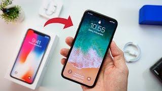 UNBOXING IPHONE X INDONESIA!!!
