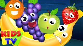 Kids TV Nursery Rhymes   Five Little Fruits   Nursery Rhyme Kids Tv    Fruits Song