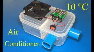 How to make air conditioner at home , 10 °C max cool