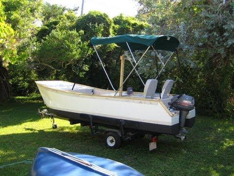 My Home Made Catamaran Limin 1 2