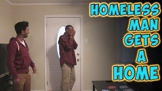 Homeless Man Gets A Home
