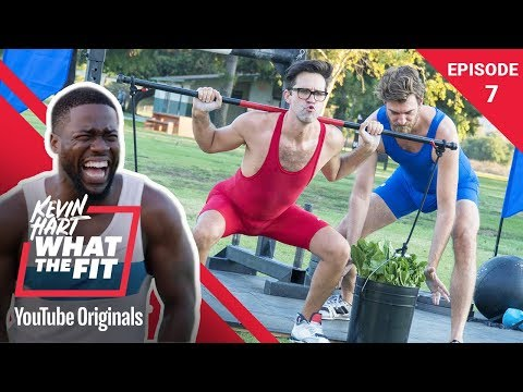 Strongman Competition w Rhett & Link Kevin Hart What The Fit Episode 7 Laugh Out Loud Network