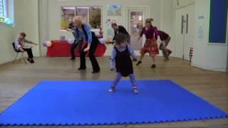 Cute Girl Has A Catchy Dance