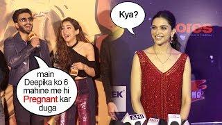 Deepika Finally Reacts On Ranveer Singh