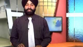 A PUNJABI NEWS CHANNEL, NEWS READER BATRA SHAMINDER SINGH