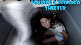 Touring a Tornado Shelter 🌪 (WK 332.6) | Bratayley