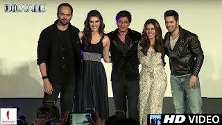Dilwale | Gerua Song Launch | Kajol, Shah Rukh Khan, Kriti Sanon, Varun Dhawan | A Rohit Shetty Film