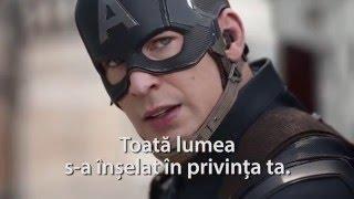 Captain America Trailer RO