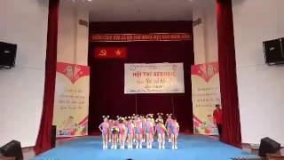 Giải aerobic mẫu giáo quận tân phú  ( mn VÀNG ANH )