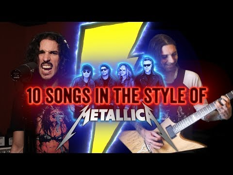 10 Songs in the Style of Metallica | Feat. EROCK