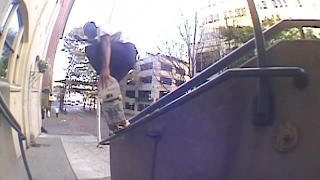 Isaac White Aggressors Part | TransWorld SKATEboarding