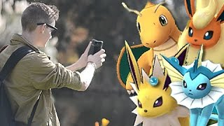 Catching All 151 Pokemon In Pokemon GO?!!