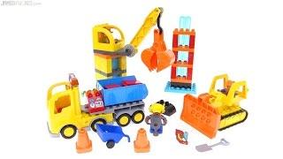 LEGO Duplo Big Construction Site review! 10813
