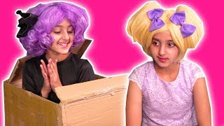 Malice Posts Herself To The Haunted Hotel 📦 Halloween Princesses In Real Life | Kiddyzuzaa
