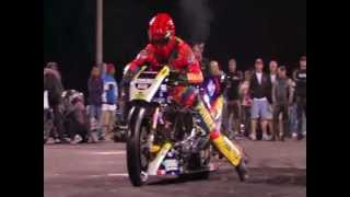 A very, very, very Fast Super Drag Motorcycle