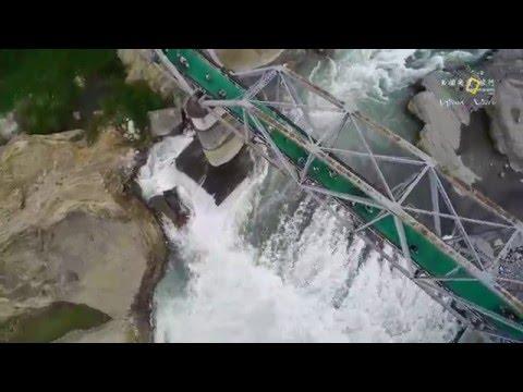 【另個角度。旅行】【風的視角】后豐鐵馬道 - 花樑鋼橋 聯合空拍