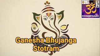 Ganesha Bhujangam 💜