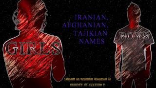 IRANIAN/PERSIAN NAMES 2017 (English version)