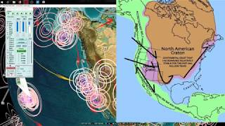 Earthquakes & Volcanos Pressure Spreading Quickly!