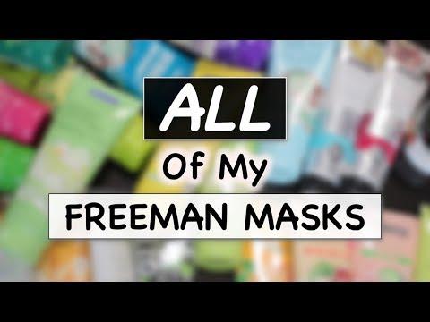 Xxx Mp4 FREEMAN MASKS COLLECTION REVIEW Masker Freeman Skincare Routine Suhaysalim 3gp Sex