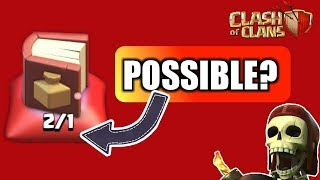TWO BOOK OF SPELL IN CLAN CASTLE. IS IT POSSIBLE!!