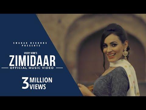 ZIMIDAAR (Full Video) || VICKY VIRK FEAT.ARSH GILL || NEW PUNJABI VIDEO 2016 || SWAGAN RECORDS