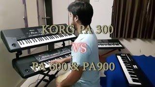 korg Pa300 vs Pa600 vs Pa900 indian version