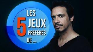 LES 5 JEUX PRÉFÉRÉS D