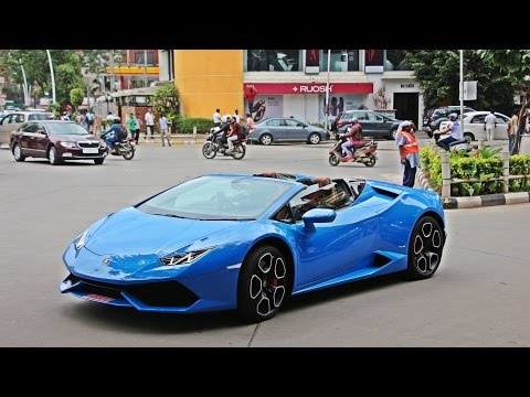 Xxx Mp4 Lamborghini HURACAN SPYDER In INDIA BANGALORE 3gp Sex