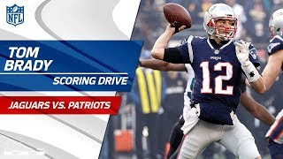 Tom Brady Converts Early 4th Down to Set Up Pats FG! | Jaguars vs. Patriots | AFC Championship HLs