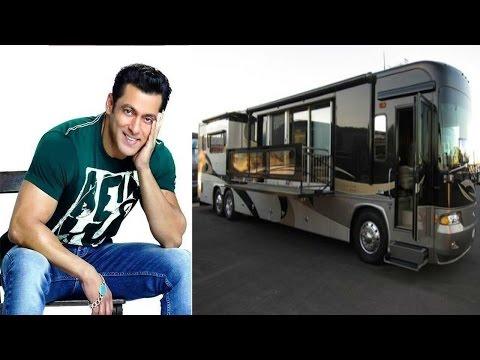 Xxx Mp4 चलता फिरता महल है सलमान खान की लक्ज़री वैनिटी वैन Salman Khan S Luxury Vanity Van 3gp Sex
