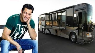 चलता फिरता महल है सलमान खान की लक्ज़री वैनिटी वैन | Salman Khan