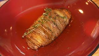 BEST Hasselback Potatoes - professional restaurant recipe