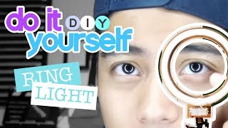How to make a DIY Ring Light -  (Do It Yourself)