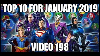 Top 10 for January 2019   DC Legends Mobile Game   Video 198