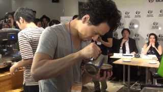 BLENZ Latte Art Competition 2013(Round3)