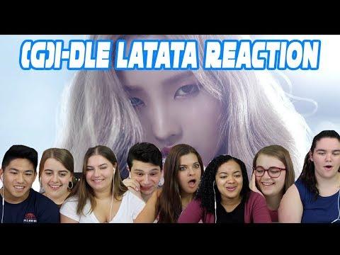 (G)I-DLE LATATA REACTION (SEASON 3 EP.2)