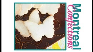 Best sugar cookie recipe by Montreal Confections for rolled sugar cookies